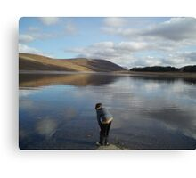 Looking for Loch Ness Monster age 8 Canvas Print