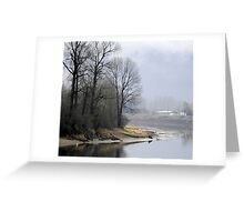 Trees on the Slough Greeting Card