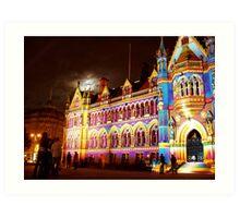 City Hall Bradford Art Print