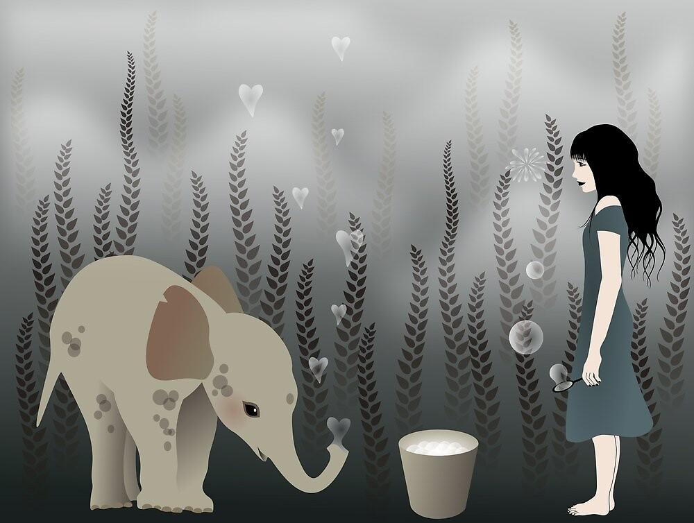 * elephant in lo♥e * by franzi