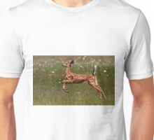 Summer Fawn - White-tailed Deer Unisex T-Shirt