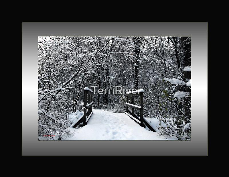 Ice Bridge by TerriRiver