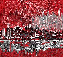 philadelphia skyline 3 by BekimART