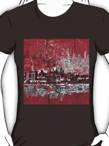 philadelphia skyline 3 T-Shirt