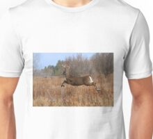 Through the Air - White-tailed Buck Unisex T-Shirt