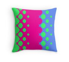 Circus Bubbles Throw Pillow