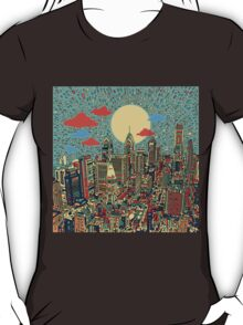 philadelphia panorama 3 T-Shirt