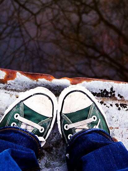 Snow Chucks by Ashley Frechette