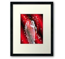 I Wish You Love Angel Framed Print