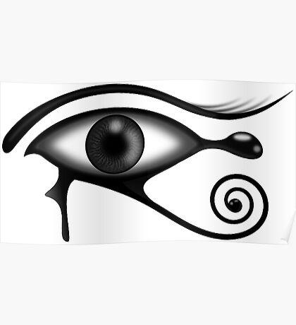 Egyptian Eye Poster