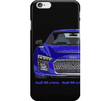 Audi 2015 R8 e-tron Pen and Ink Sketch iPhone Case/Skin