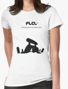 Fooly Cooly T-Shirt (Black Boarderless) Womens Fitted T-Shirt