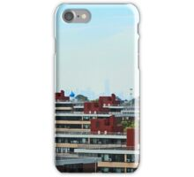 Linear Geometrical Buildings in NYC (Panorama) iPhone Case/Skin