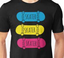 Skater Skateboards Unisex T-Shirt