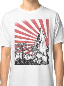 Japanese Landscape T Classic T-Shirt