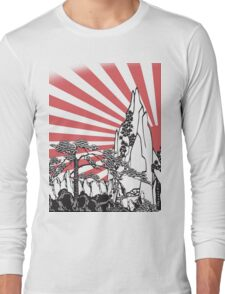Japanese Landscape T Long Sleeve T-Shirt