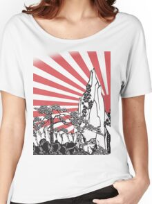 Japanese Landscape T Women's Relaxed Fit T-Shirt