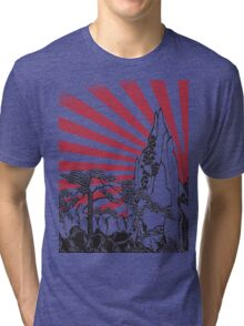 Japanese Landscape T Tri-blend T-Shirt