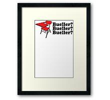Bueller Framed Print