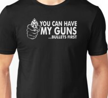 Bullets First Unisex T-Shirt