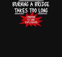 Burning Bridge Unisex T-Shirt