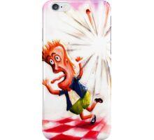 Run from the Blast iPhone Case/Skin