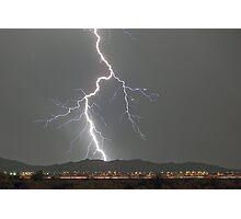 Monsoon Strike Photographic Print