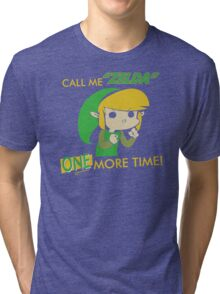Call Me Zelda One More Time Tri-blend T-Shirt