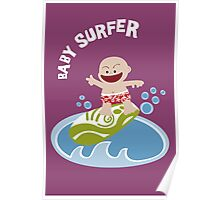 Baby Surfer Poster