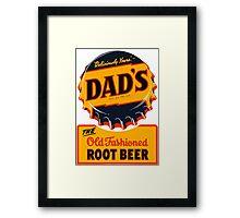 DAD'S Framed Print