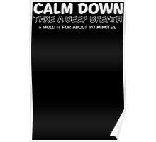 Calm Breath Poster
