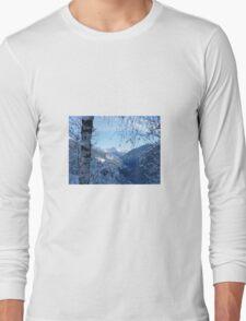 Winter scene Long Sleeve T-Shirt