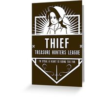 Treasure Hunters League Greeting Card