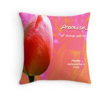 Promise of Things Yet To Be Throw Pillow