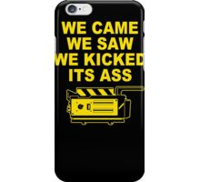 Came Saw Kicked Ass iPhone Case/Skin