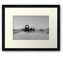 West Meets Highway Framed Print