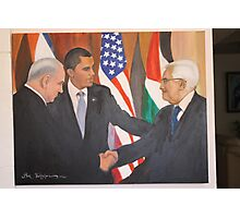 Peace in Middle East. Photographic Print