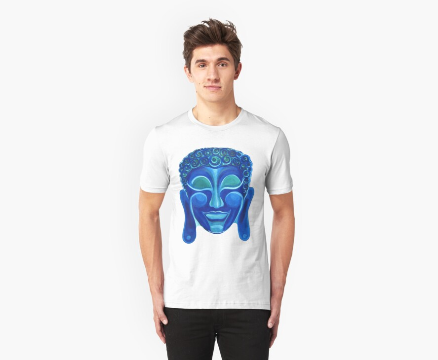 Buddha Smiling Tshirt! by signaturelaurel