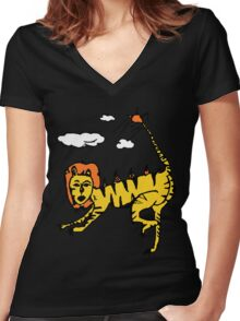 Liger Women's Fitted V-Neck T-Shirt