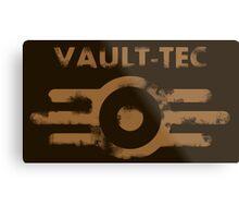 Vault-Tec Metal Print