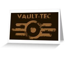 Vault-Tec Greeting Card
