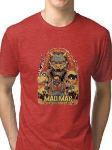 Rainbow road Tri-blend T-Shirt