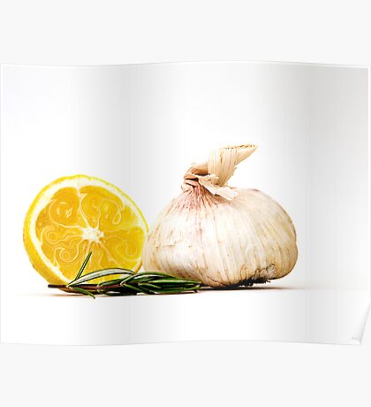 Lemon Swirl Poster