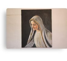 Mary the Virgin Canvas Print