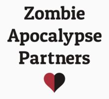zombie apocalypse partners heart halves by Fuchs-und-Spatz