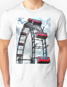 Viennese Giant Wheel in Colour T-Shirt