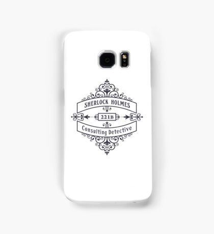Consulting Detective (blue) Samsung Galaxy Case/Skin