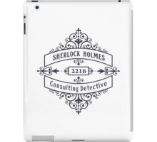 Consulting Detective (blue) iPad Case/Skin