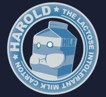 Harold: The Lactose Intolerant Milk Carton