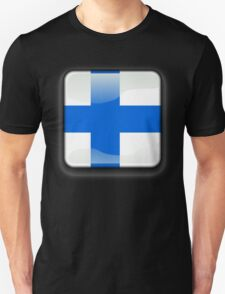 Finland Flag Icon T-Shirt
